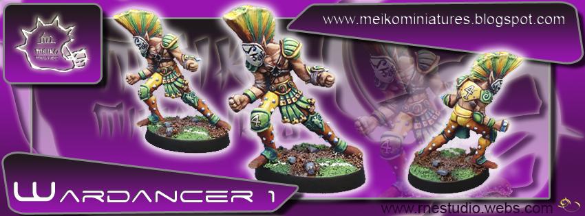 Wood Elves / Elves - Wardancer nº 1 - Meiko Miniatures