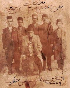 حاج ميرزا ابوطالب و فرزندان