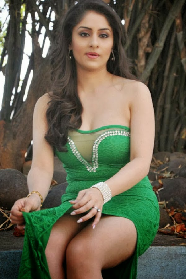 Cine Gallery: Actress Ankit Sharma Hot Cleavages Stills