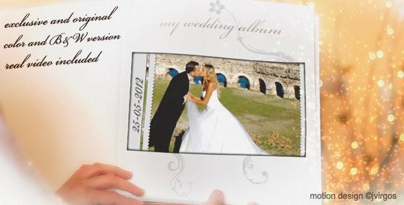 VideoHive Wedding Album Love Memories
