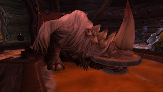 Dead Rhino World of Warcraft WoW Pet Hunter Tame Pet How To Do