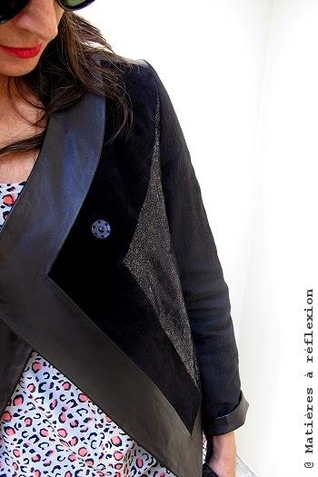 Eple & Melk vêtements veste cuir
