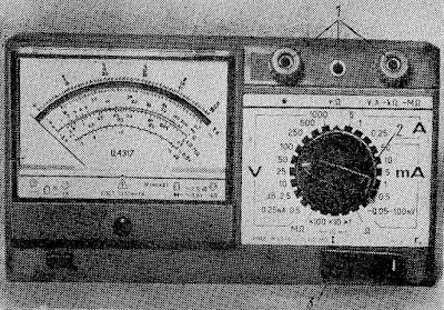 Мультиметр старого образца