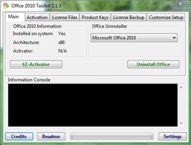 MS Office 2010 Lifetime Activation