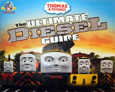 Island of Sodor Ultimate guide Thomas and friends Day of the Diesel train picture book for children
