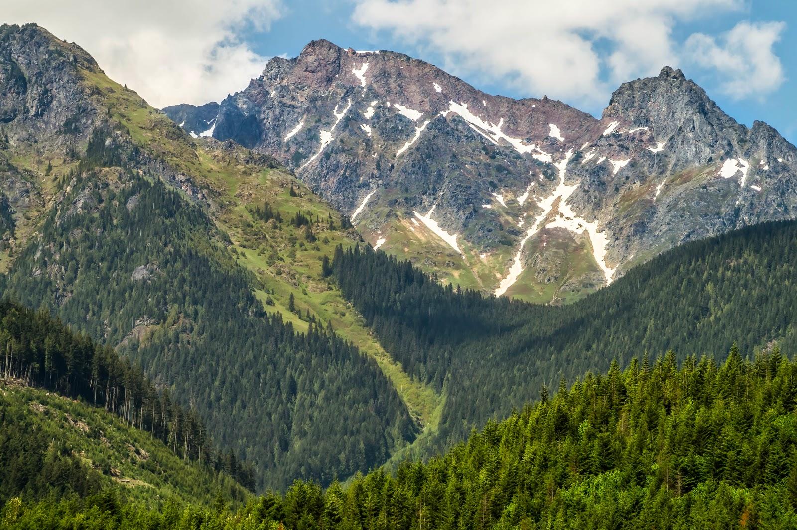 Каскадные горы