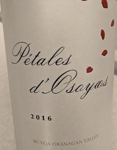 Notre vin de la semaine est un excellent rouge de la vallée de l'Okanagan !