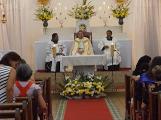 Segunda noite do novenário em honra ao Sagrado Coração de Jesus