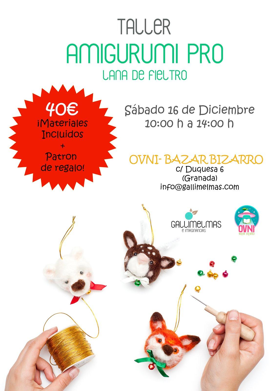 ¡Próximo taller en Granada!