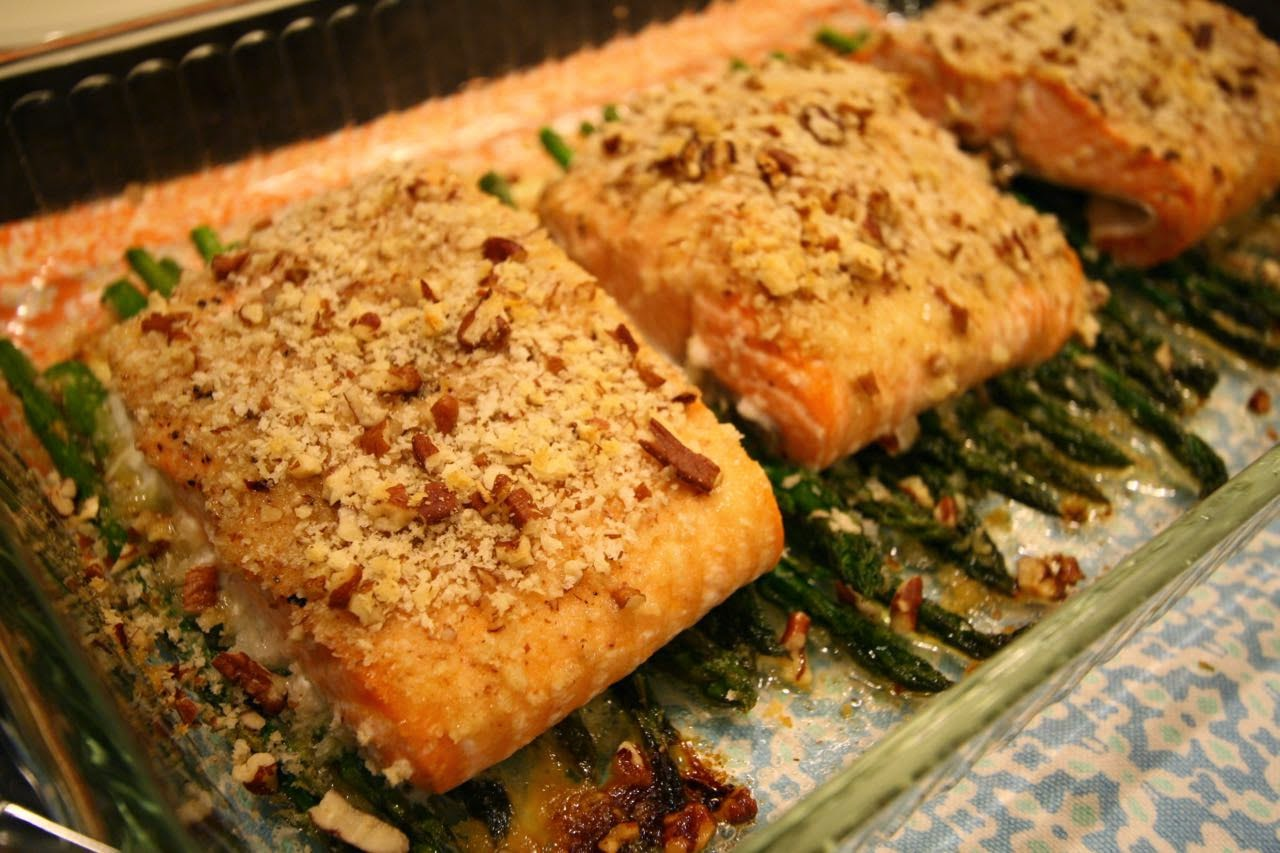 Meal No. 1257: Baked Dijon Salmon Fillets