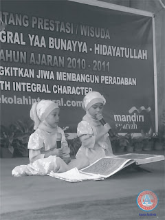 Acara Wisuda TK Yaa Bunayya  Angkatan ke-VIII,  Berlangsung Semarak
