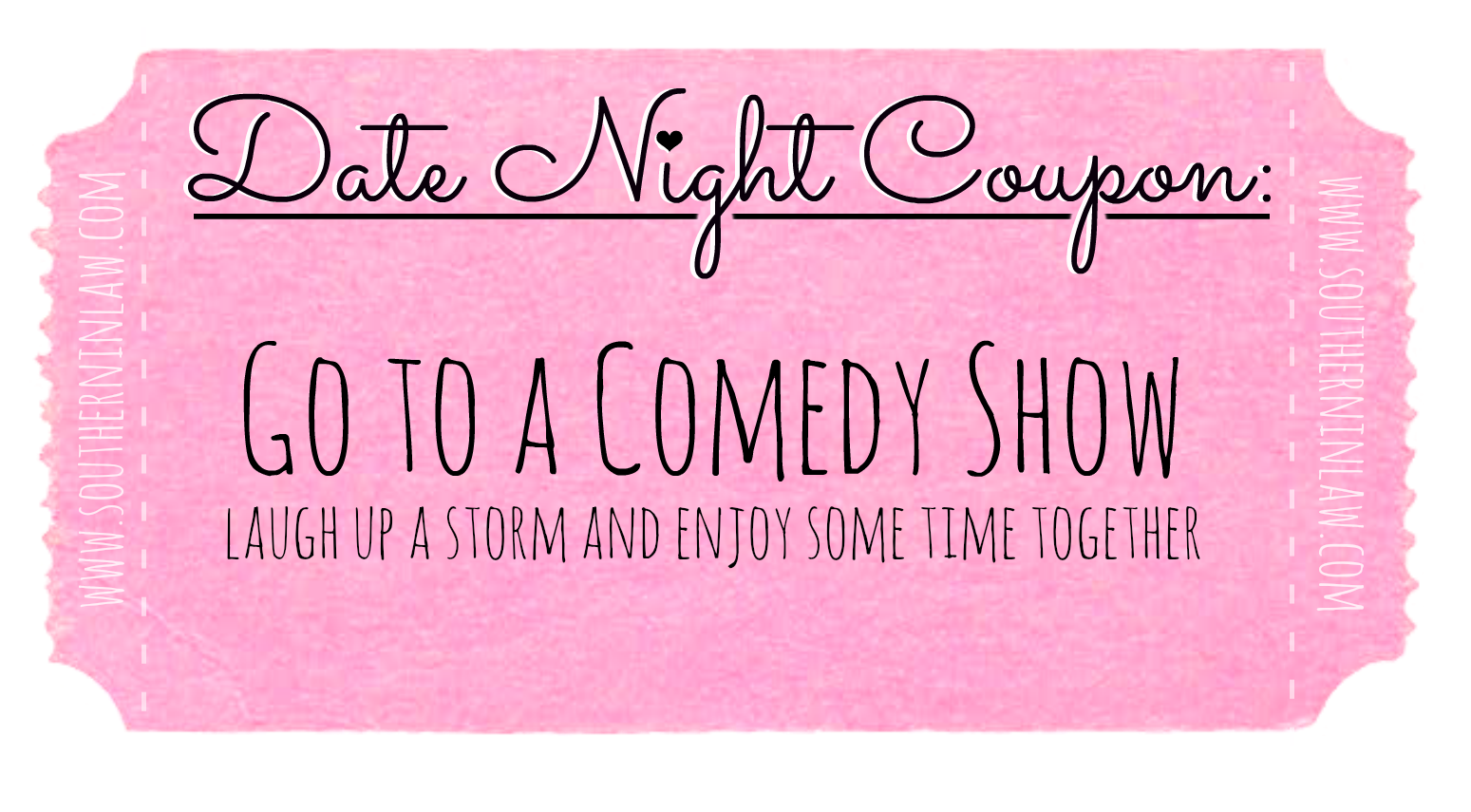 Affordable Date Ideas - Date Night Coupons - Go to a Comedy Show