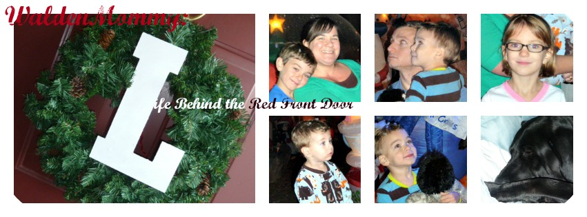 WaldenMommy: Life Behind the Red Front Door