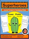 https://www.teacherspayteachers.com/Product/Pickle-Power-Superhero-Journal-Writing-Prompts-for-Primary-K-3-1958279