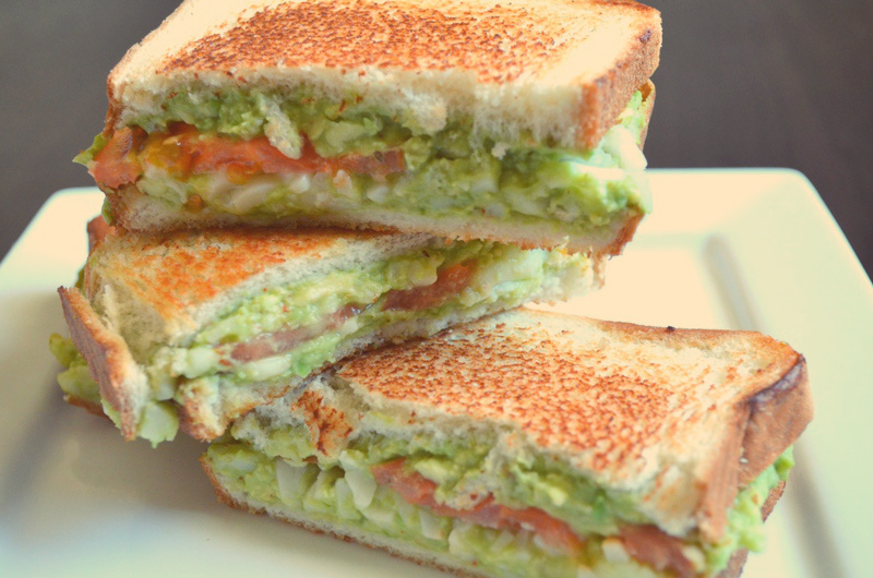 For the Love of Dessert: Avocado Grilled Cheese Sandwich