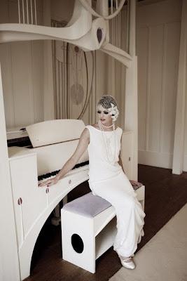 robe de mariée simple années 20