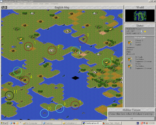 Civilization 2 - Best Terrain Bonuses Description