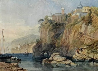 Water Color Painting - Vico, Bay of Naples