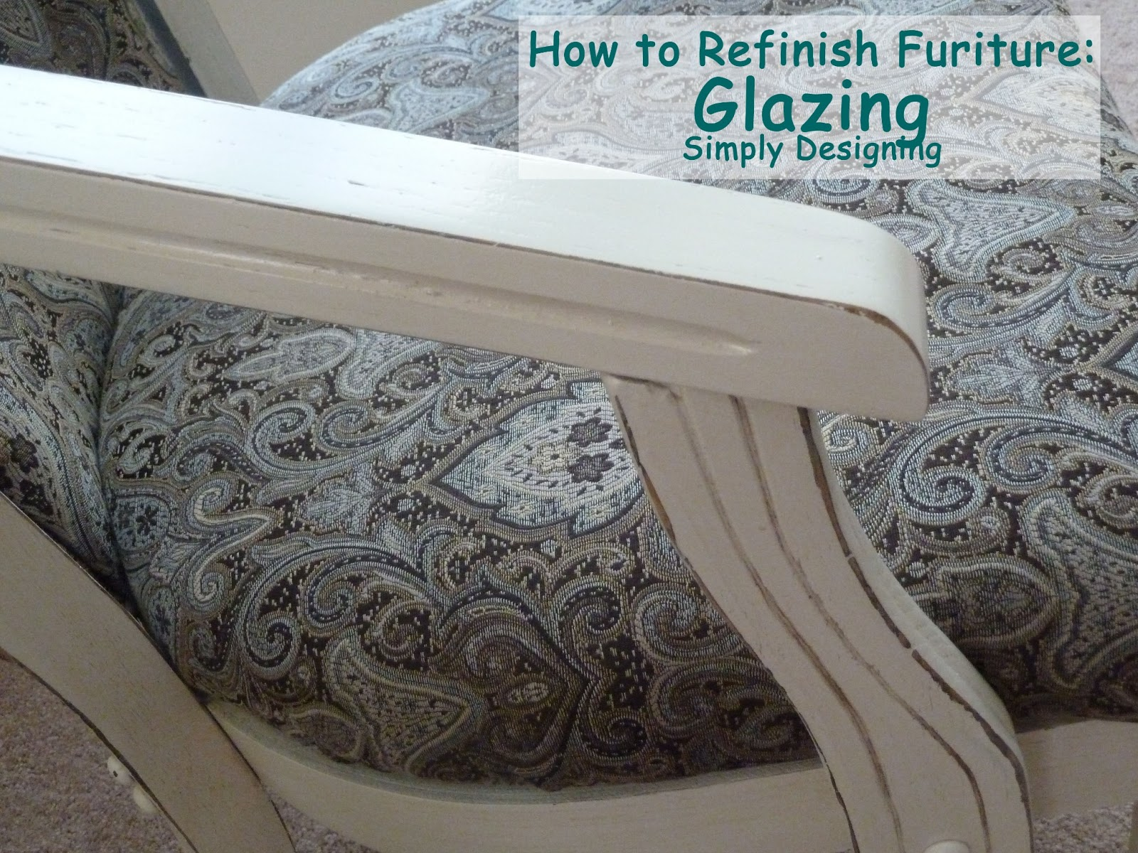 How to refinish furniture glazing for How to refinish furniture with paint