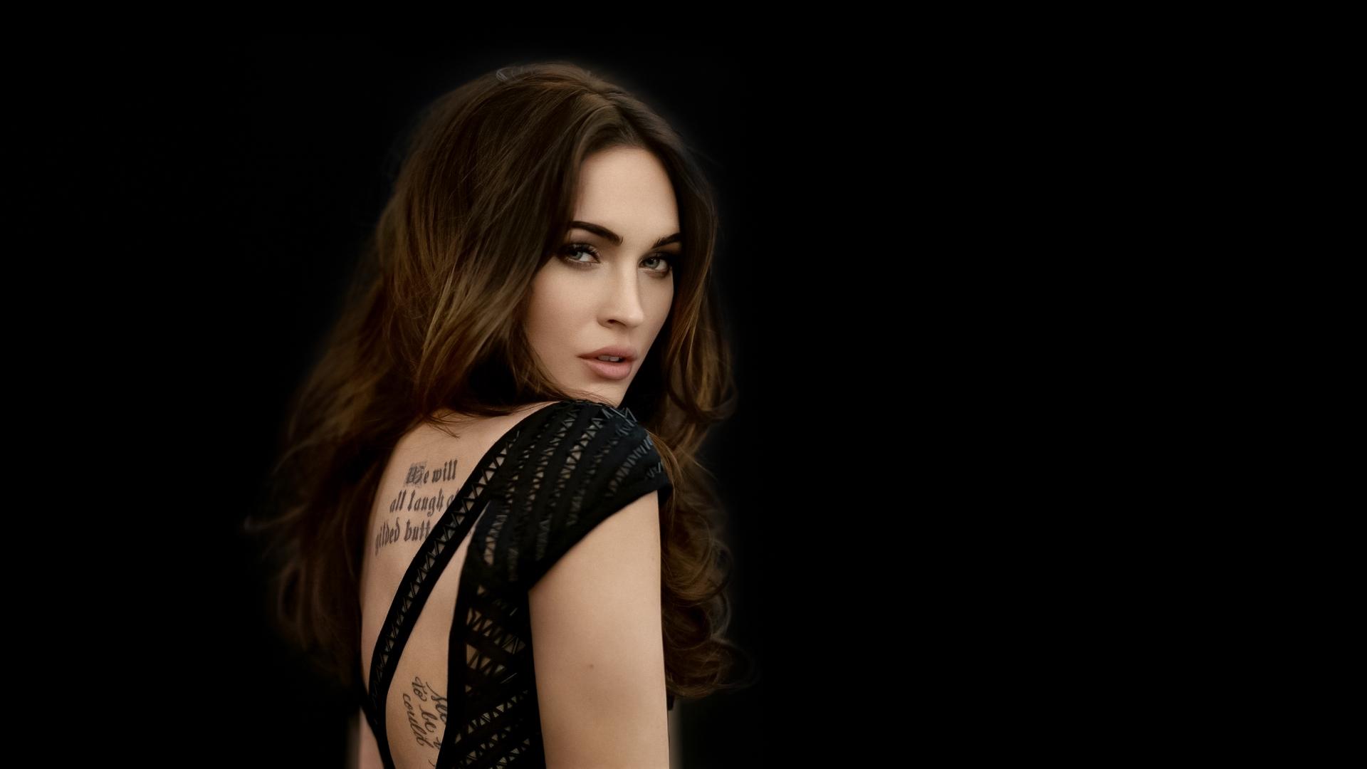 Megan Fox Tattoo Hd Wallpaper