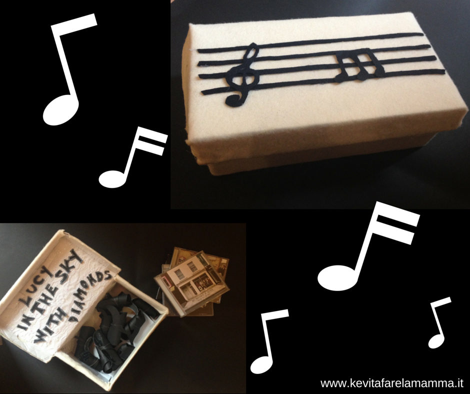 abbastanza La scatola della musica e dell'amore: regalo per la festa del papà  YV24