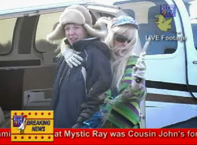 KLUK TV Field Correspondent Cassadee Davis Reports on the Unfolding Mystic Ray/Little John Hostage