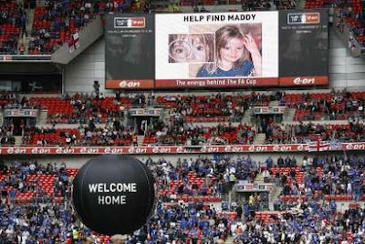 Why have the McCanns lied about Maddie's coloboma for 4 years? Madeleine_FA_Cup_Final_2007
