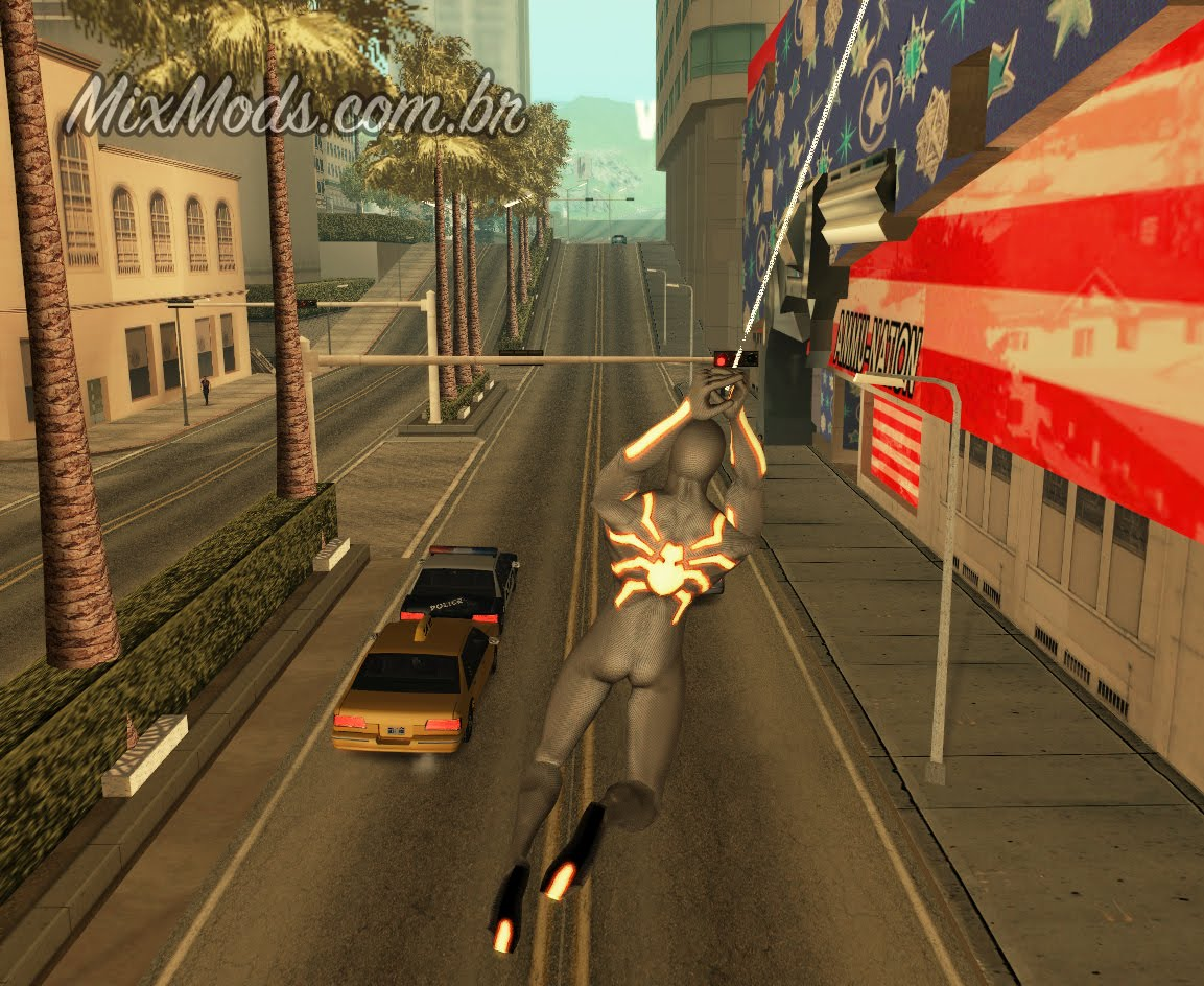 gta san andreas spiderman cleo mod download