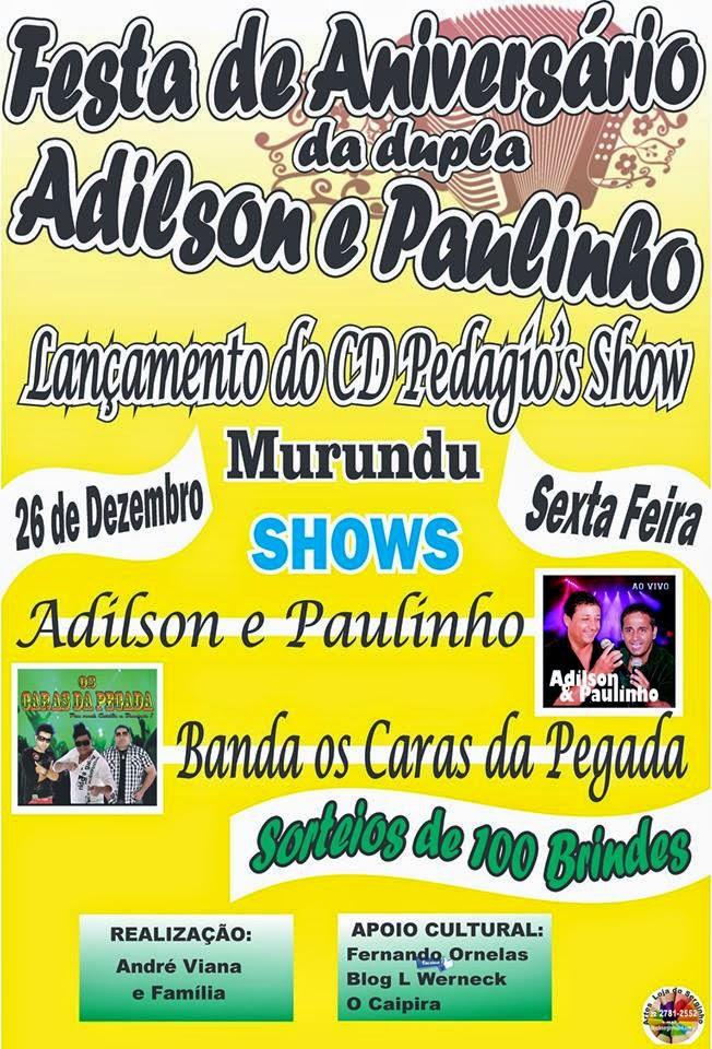 Aniversário de Adilson e Paulinho