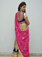 Pavani Gorgeous in half saree-cover-photo