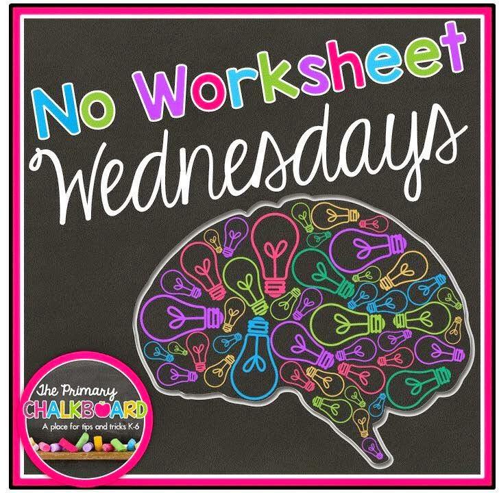 No Worksheet Wednesday
