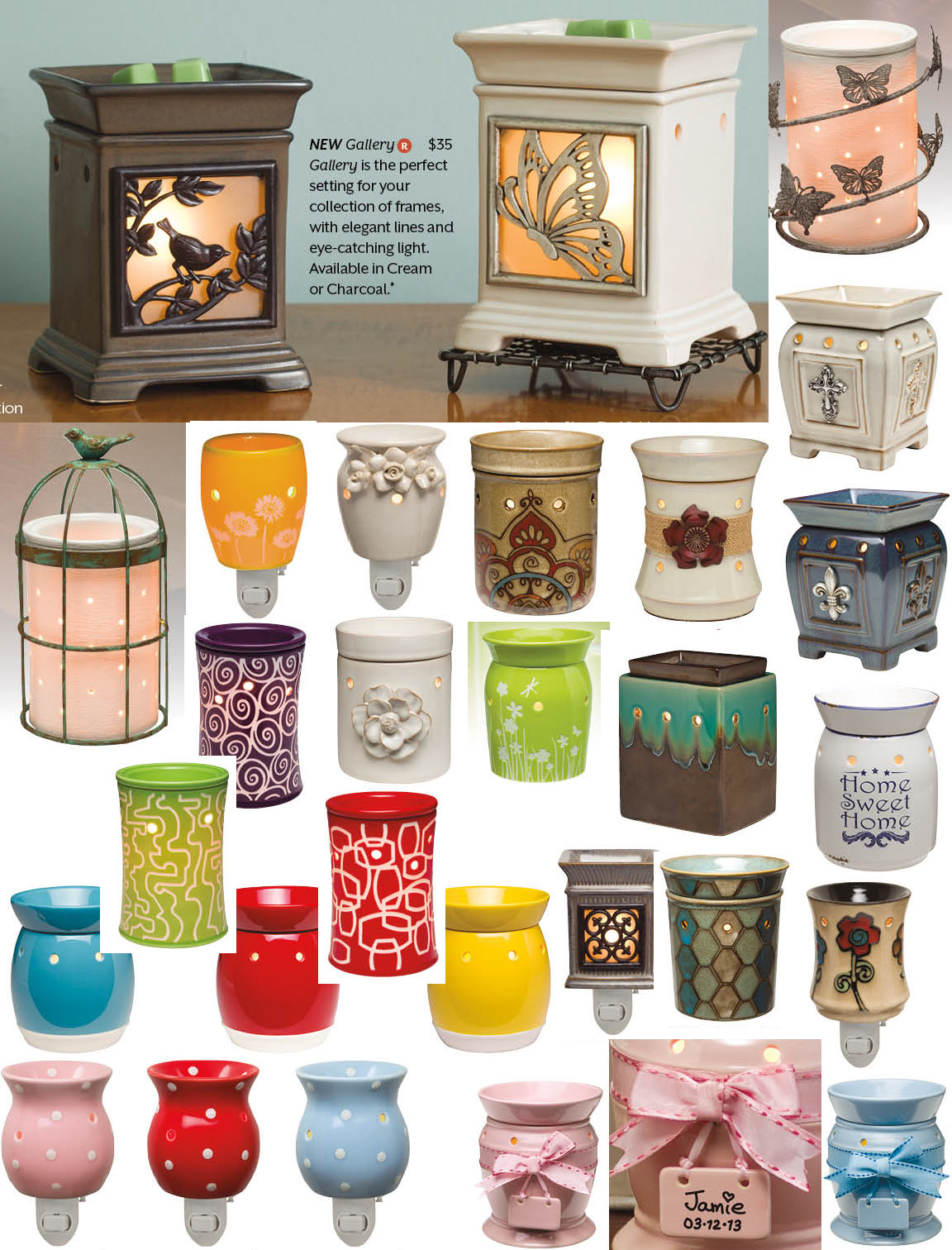 New Scentsy Warmers for Spring 2013
