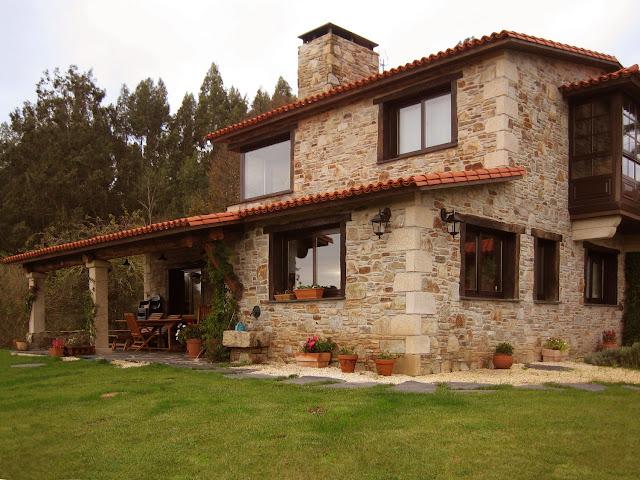 Arquitectura dia a dia residencias rusticas - Casas de piedra prefabricadas ...