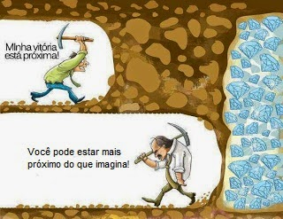 Lutar Sempre, Desistir jamais!