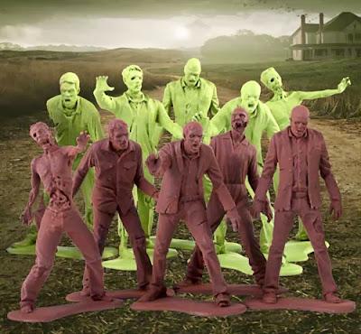 The Walking Dead Zombie Army Men serie 1 (Gentle Giant)