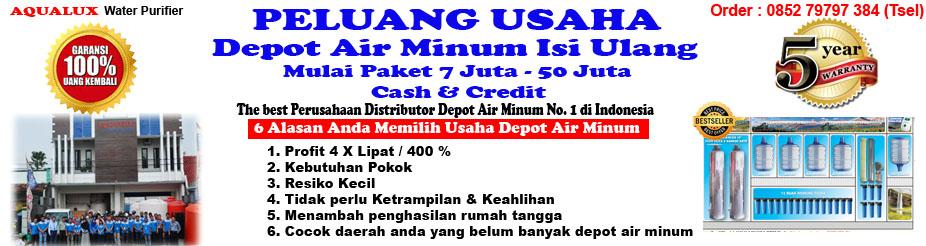 085279797384, hanya 5 Juta Depot Air Minum Isi Ulang Aqualux Demak