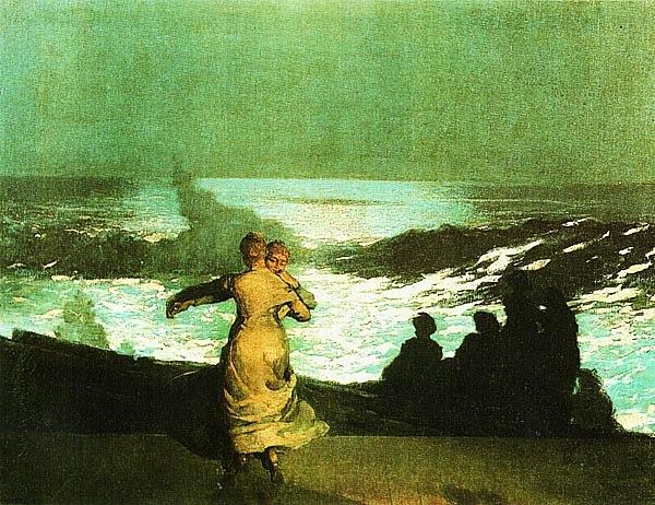 Уинслоу Хоумер. Летняя ночь. 1890.