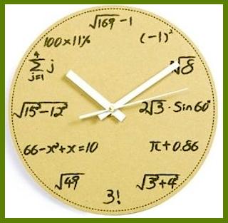 Μαθηματικό ρολόϊ