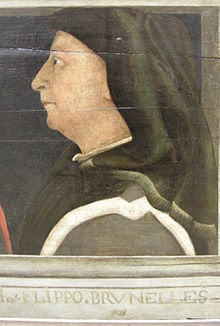 Retrato Fillippo Brunelleschi