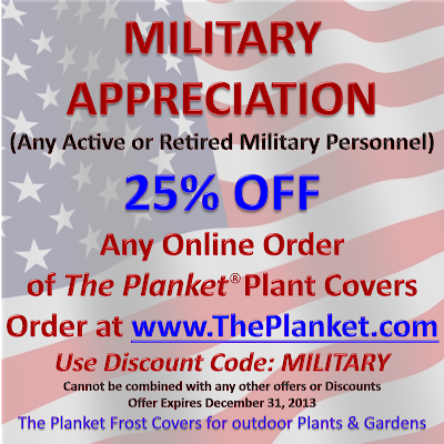 The Planket Frost Blanket, Frost Cloths for outdoor Plants and Gardens