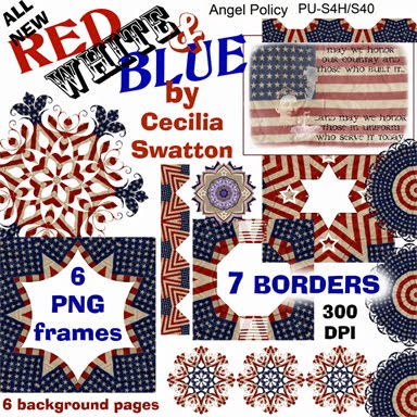 All New -- Red White and Blue
