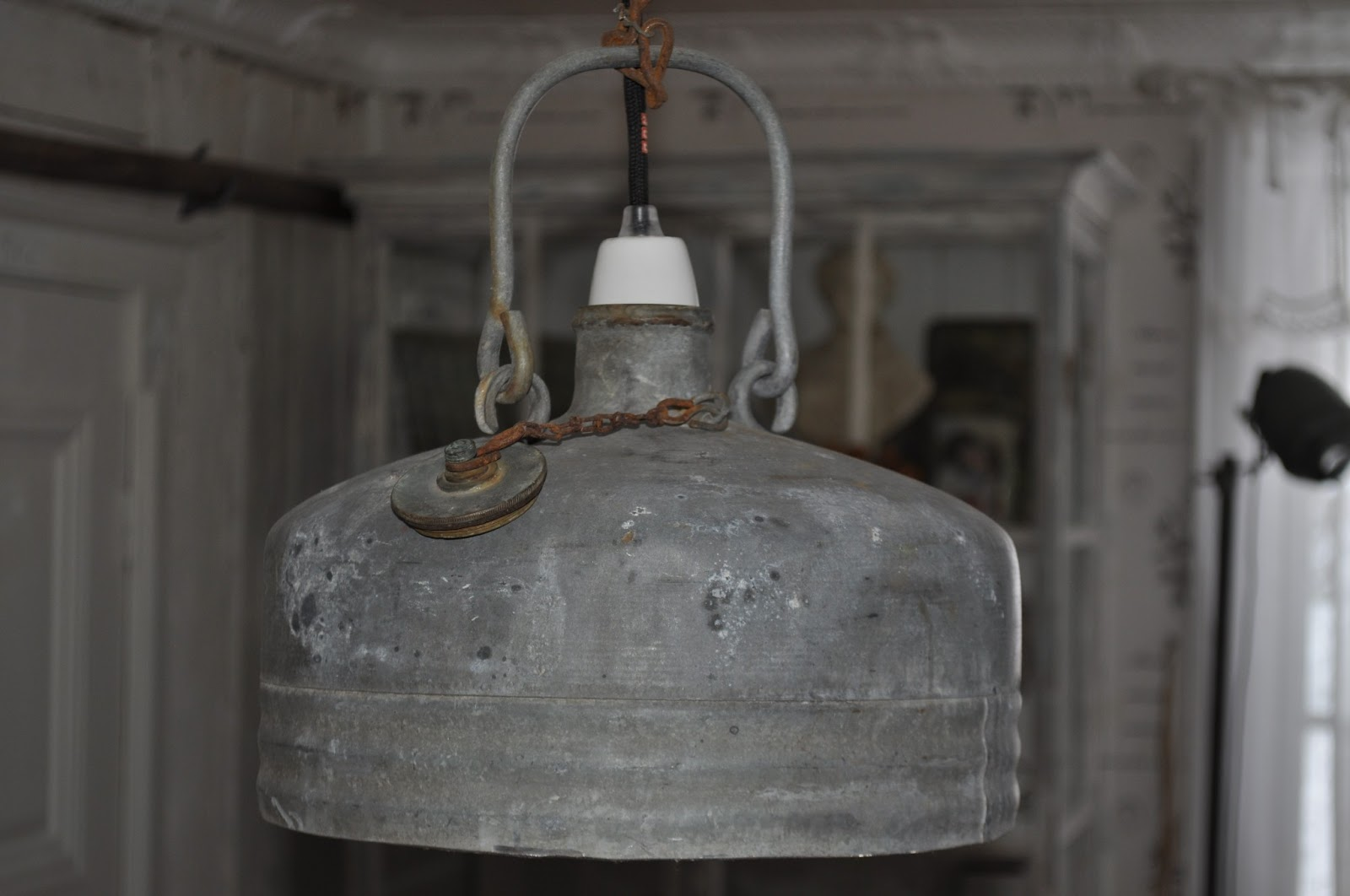 VÅr sekelskiftesdrÖm: Återbruk del 4 lampa