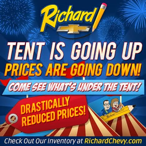Richard Chevrolet Summer Tent Sale