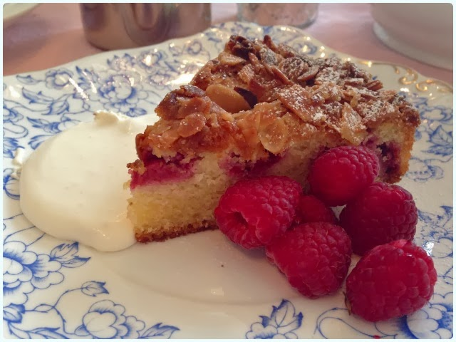 Thru the Lookin' Glass, Wheelton - Almond and Raspberry Cake