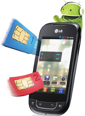 LG дуал-SIM на ОС Android