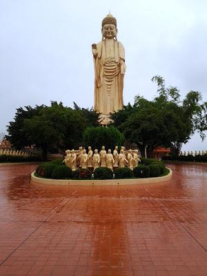 The Amitabha Buddha at Fo Guang Shan Monastery Kaohsiung