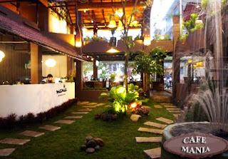 Cafe Mania Gò vấp cà phê sân vườn 4