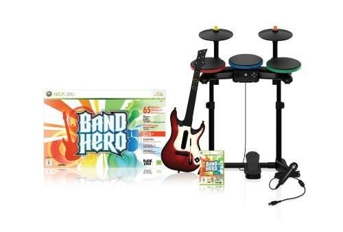angers mon amour vendu xbox 360 arcade band hero batterie guitare micro et jeu prix. Black Bedroom Furniture Sets. Home Design Ideas