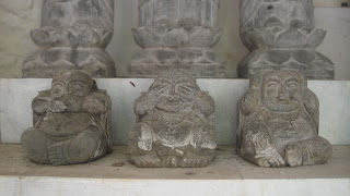 Speak no Evil, See no Evil, Hear no Evil Sam Poh Tong Cave Temple Ipoh, Perak Malaysia.