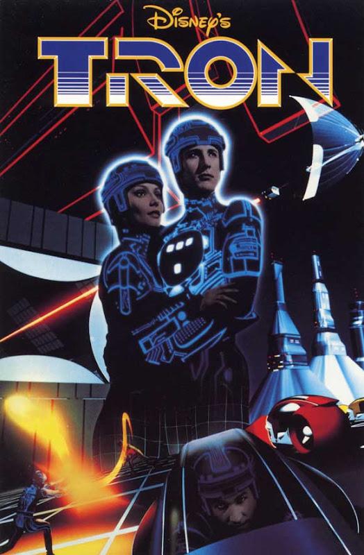 Tron film poster